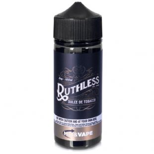 Ruthless – Dulce De Tobacco - UK Price Only £18.95 100ml Shortfill